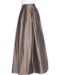 Aidan Mattox - Ball Skirt With Pockets - Lyst
