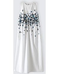 Suno Shirred Waist Maxi Dress - Lyst