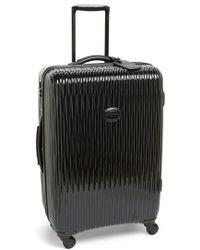 Longchamp - 'medium Fairval' Four-wheel Hard Shell Suitcase - Lyst