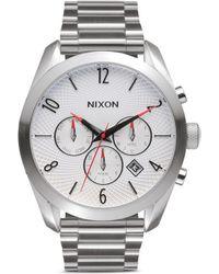 Nixon 'The Bullet Chrono' Watch silver - Lyst