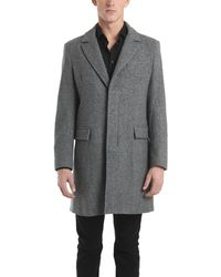 Simon Spurr - Topcoat with Leather Undercover - Lyst