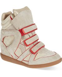 Isabel Marant Wila Wedge Trainers - For Women - Lyst