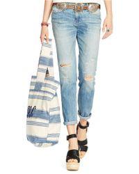 Polo Ralph Lauren Slim Astor Boyfriend Jeans - Lyst