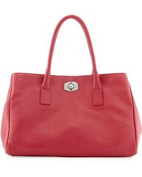 Furla New Appaloosa Leather Tote Bag - Lyst