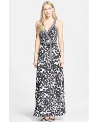 Diane von Furstenberg 'Samson' Floral Print Silk Dress - Lyst