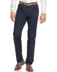 Vince Camuto - Peacoat Slimfit Trousers - Lyst