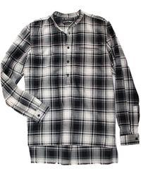 Inter-pret.us The Tab Collar Shirt - Lyst