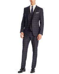Hugo Boss Hugegenius We  Slim Fit Super 130 Italian Virgin Wool 3-piece Suit - Lyst