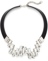 Lafayette 148 New York Crystal Cluster Collar Necklace - Lyst