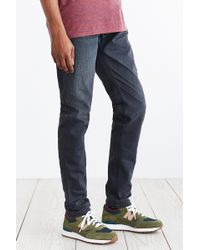 Kato - Grey Puma Slouch-Fit Selvedge Jean - Lyst