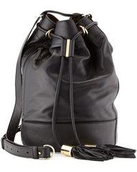 See By Chloé Vicki Large Bucket Bag - Lyst