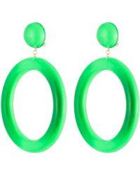 Alexis Bittar | Ab X Jeremy Scott Large Hoop Clip Earring | Lyst