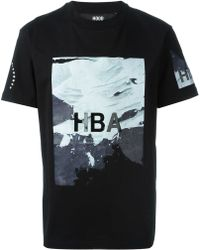 Hood By Air Printed T-shirt - Black
