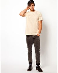 American Apparel T-shirt with Crew Neck - Lyst