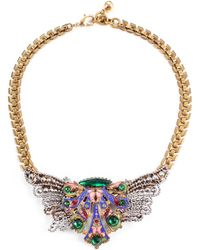 Lulu Frost 50 Year Necklace #30 gold - Lyst