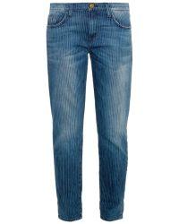 Current/Elliott The Fling Mid-Rise Slim Boyfriend Jeans - Lyst