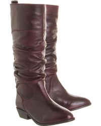 Office Ace Slouch Boot - Lyst