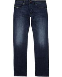 Diesel Waykee Straight Leg Jeans - Lyst