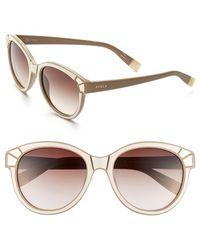 Furla | 54Mm Sunglasses | Lyst