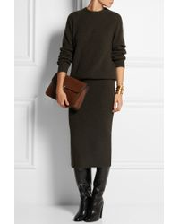 Christophe Lemaire - Ribbed Merino Wool And Yak-Blend Sweater - Lyst