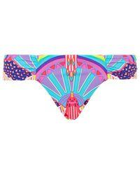 Mara Hoffman Rainbow Reversible Bikini Brief - Lyst