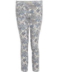 Uniqlo | Angelica Garla C Printed Cropped Legging Trousers | Lyst