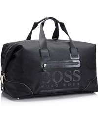 BOSS Green - Tracker  Nylon Logo Weekender Bag - Lyst