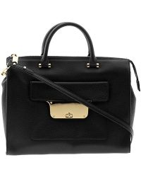 Milly Isabella Pebble Large Tote - Lyst