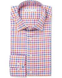Etro Multi-Coloured Check Cotton Shirt - Lyst