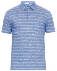 Richard James | Striped Linen And Cotton-Blend Polo Shirt | Lyst