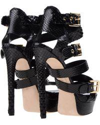 DSquared² Platform Sandals - Black