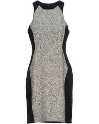 Rag & Bone Gray Short Dress - Lyst