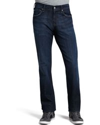 7 For All Mankind Austyn Los Angeles Dark Jeans - Lyst