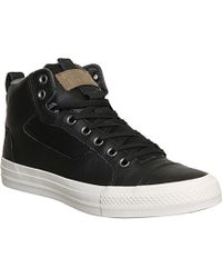 Converse Chuck Taylor All Star Asylum Mid Leather Trainers - For Men - Lyst