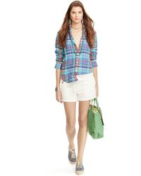 Polo Ralph Lauren French Terry Drawcord Short - Lyst