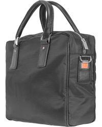 Giorgio Fedon Metro - Double Handle Briefcase - Black