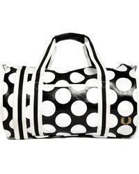 Fred Perry - Barrel Bag In Polka Dot - Lyst