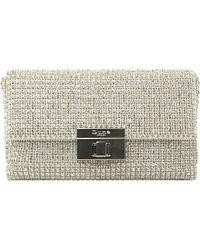 Dune Elizabeth Diamanté Clutch Bag Bag - For Women - Lyst