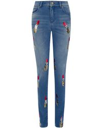 House of Holland Skinny Lippy Jeans - Lyst