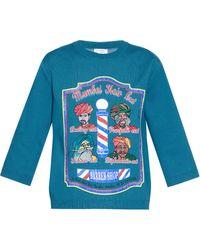 Stella Jean - Cleveland Barber Shop Sweatshirt - Lyst
