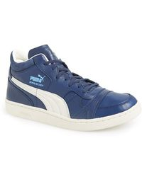 Puma Becker Leather Sneakers - Lyst