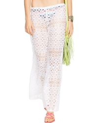 Polo Ralph Lauren Crocheted Pant - Lyst