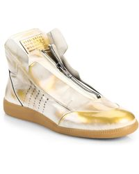 Maison Margiela Fire Treatment New Future High-Top Sneakers - Lyst