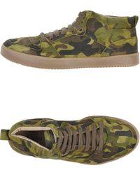 Ganni High-tops & Sneakers - Green