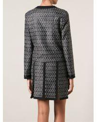 Etro Jacquard Skirt Suit - Black