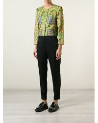 Christian Lacroix - Foliage Embroidered Cropped Jacket - Lyst