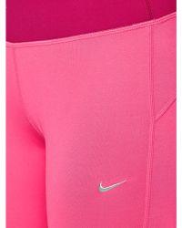 Nike Df Epic Run Crop Tights - Lyst