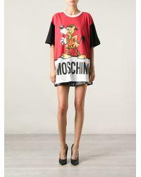 Moschino Mr Funtastic Tshirt - Lyst
