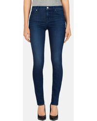 J Brand '620' Mid Rise Skinny Jeans - Lyst