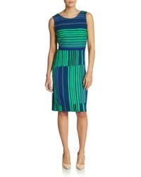 Max Mara Pelota Striped Dress - Lyst